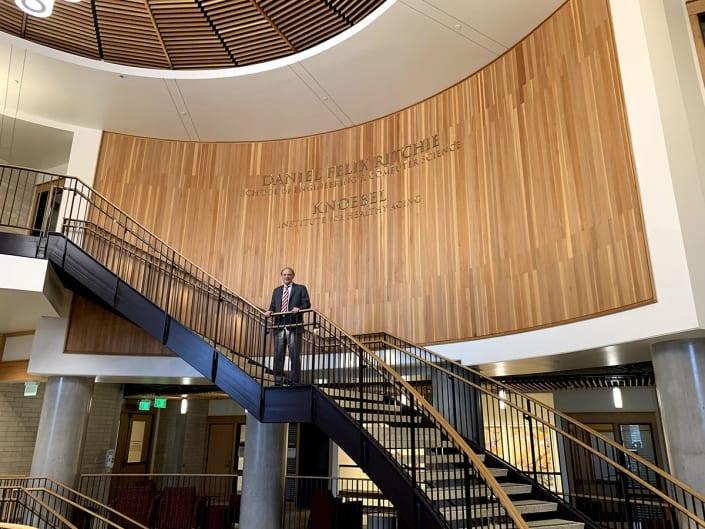 2019 10 John McDonald s visit to DU