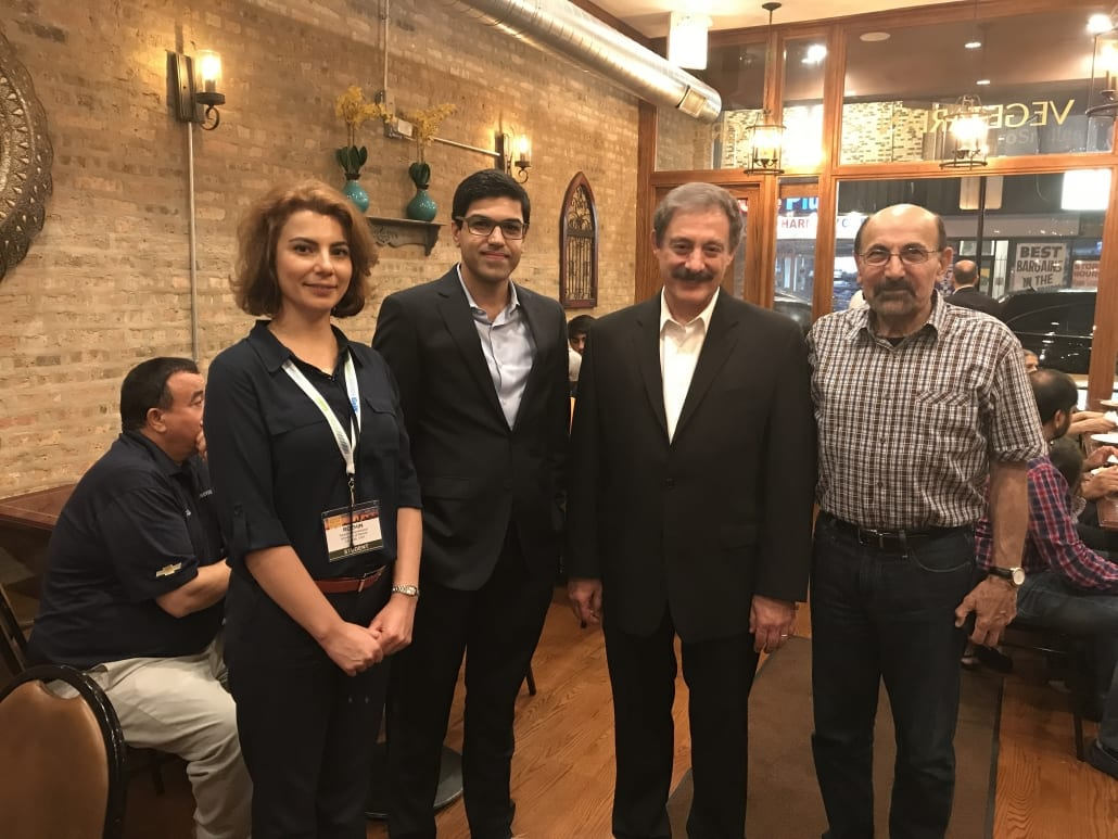 2017 07 Four generation of power engineers with Dr. Rahimi and Prof. Shahidehpour